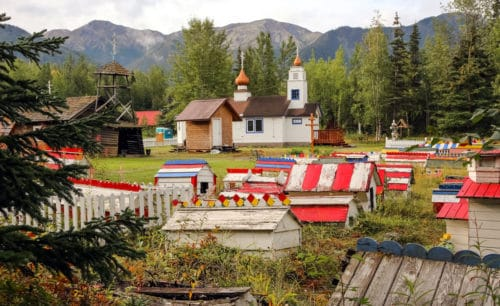 Eklutna Village Historic Park