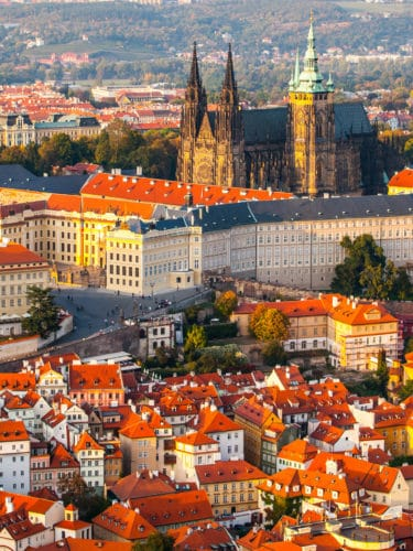 10 Awesome things to do in Prague: Old Town Square in Prague: Prague Castle