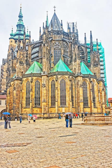 Top 10 things to do in Prague: St Vitus Cathedral