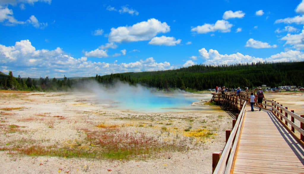 Biscuit Geyser Basin, Yellowstone