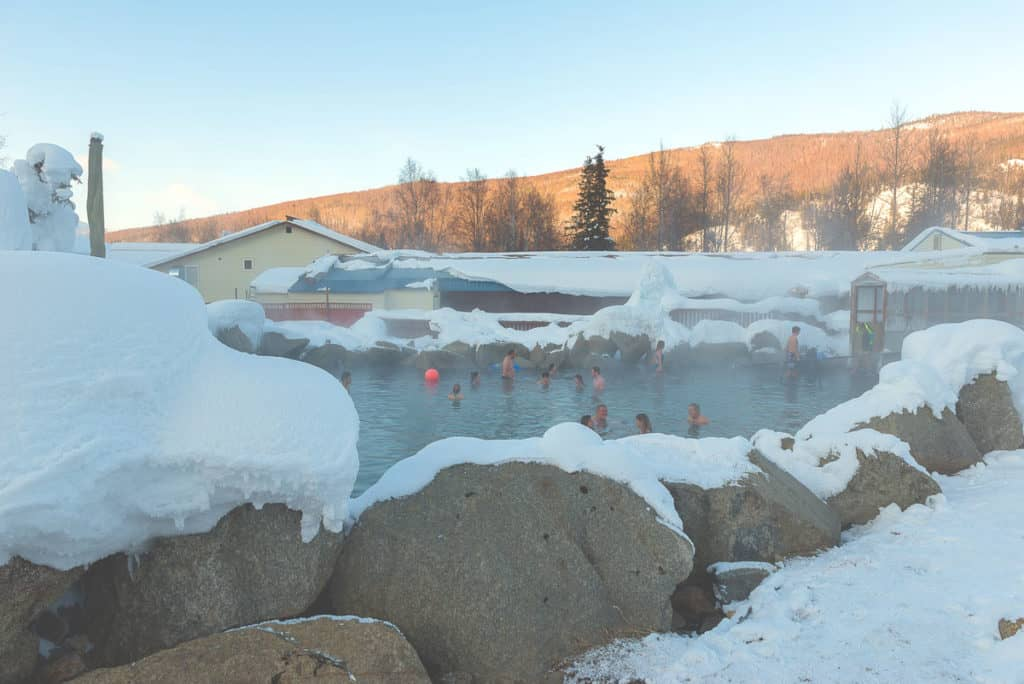 11 Pretty Awesome Things to Do in Fairbanks: Chena Hot Springs in Winter Time