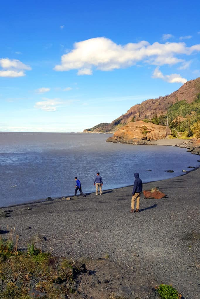 Things to do in Anchorage: Visit the beach