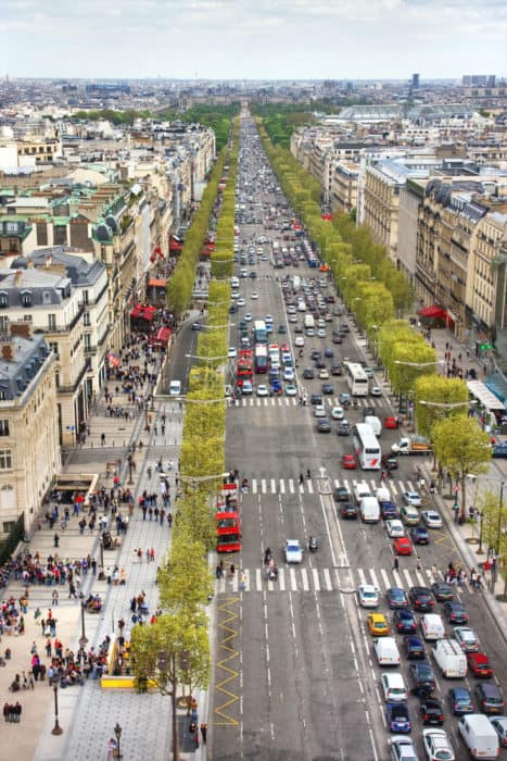 Champs-Elysees - Add to your list of things to see in Paris