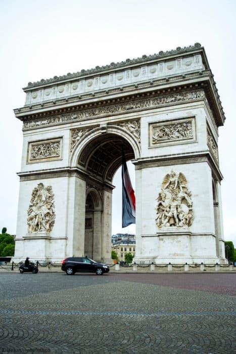 Things to see in Paris: Arc De Trionph