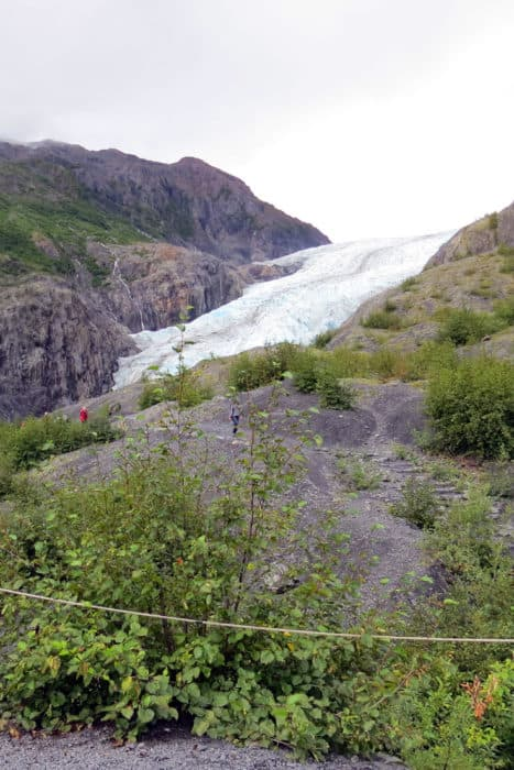Alaska National Parks: The Exit Glacier in Kenai Fjords National Park