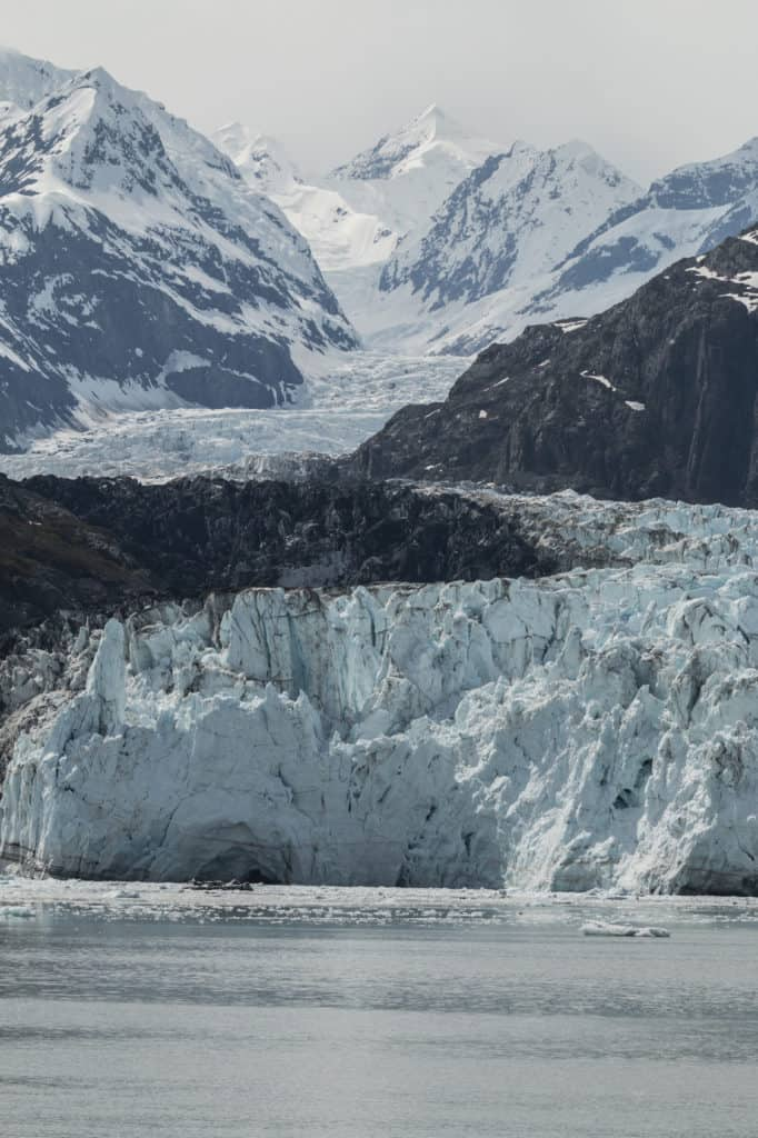 Alaska National Parks: Margerie Glacier and the Fairweather Range in Glacier Bay National Park