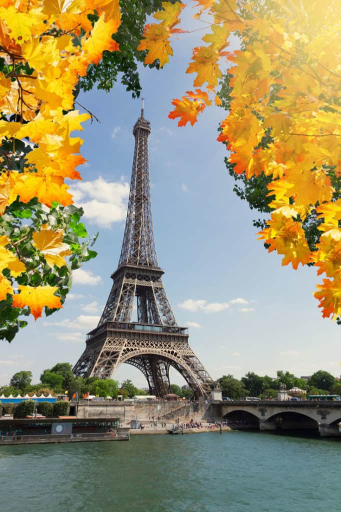 Pictures of the Eiffel Tower in Paris