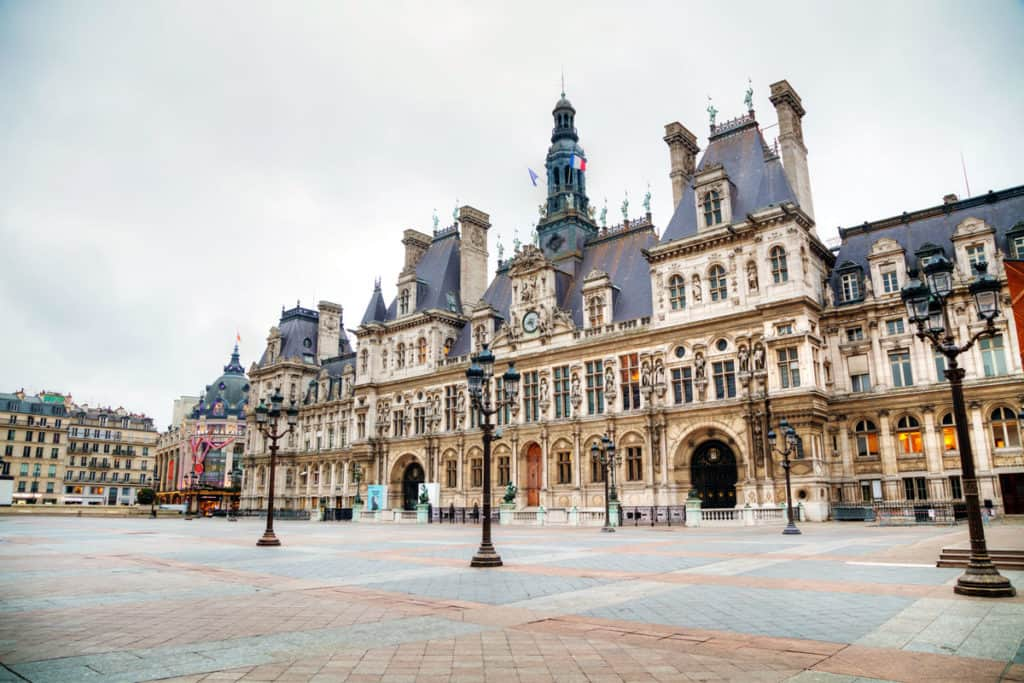 top things to see in paris map included
