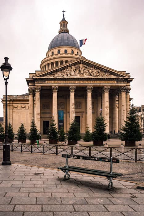 The Pantheon in Paris - The Latin Quarter