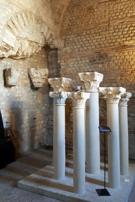 The Roman Ruins in Cluny Museum