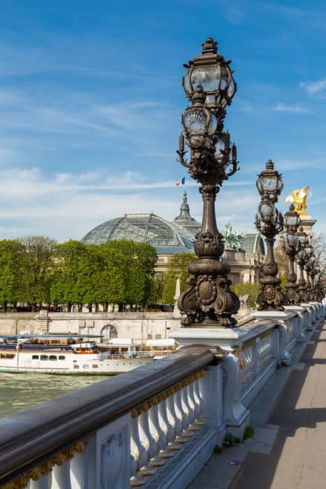 Bridge on the Seine River