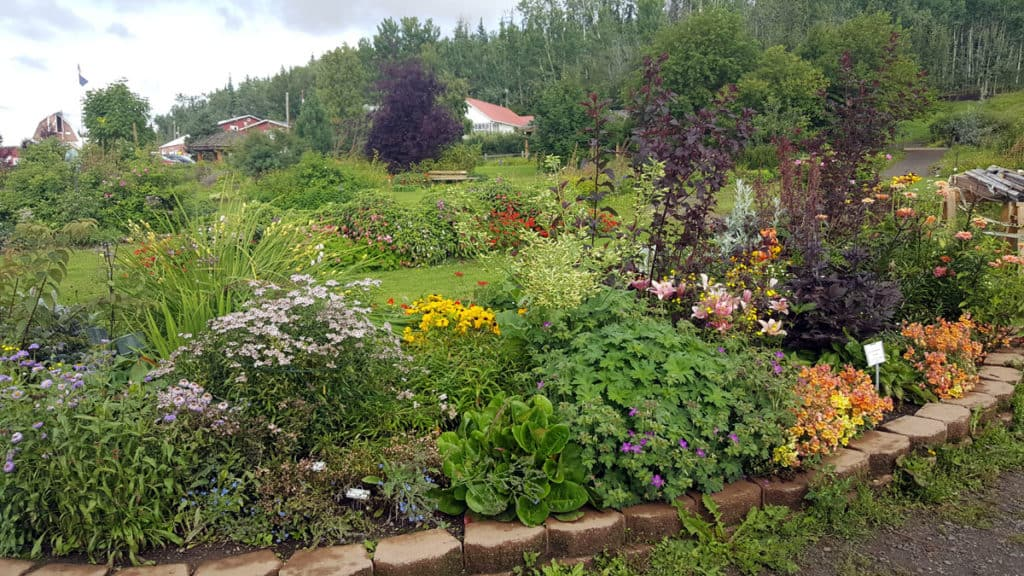 The Georgeson Botanical Garden in Fairbanks, Alaska