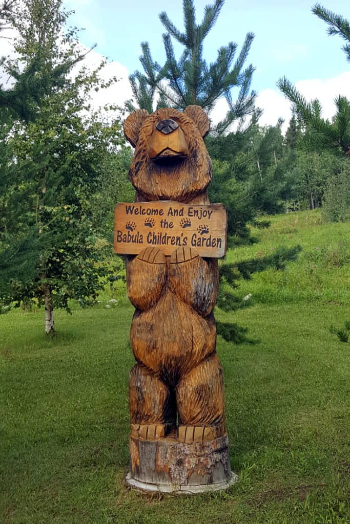 The Babula Children's Garden - The Georgeson Botanical Garden in Fairbanks, Alaska - Trip Report