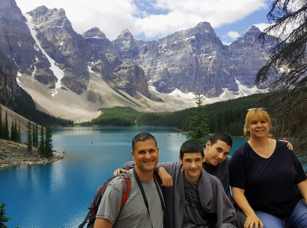 Our stop at the Canadian Rockies was totally worth it!