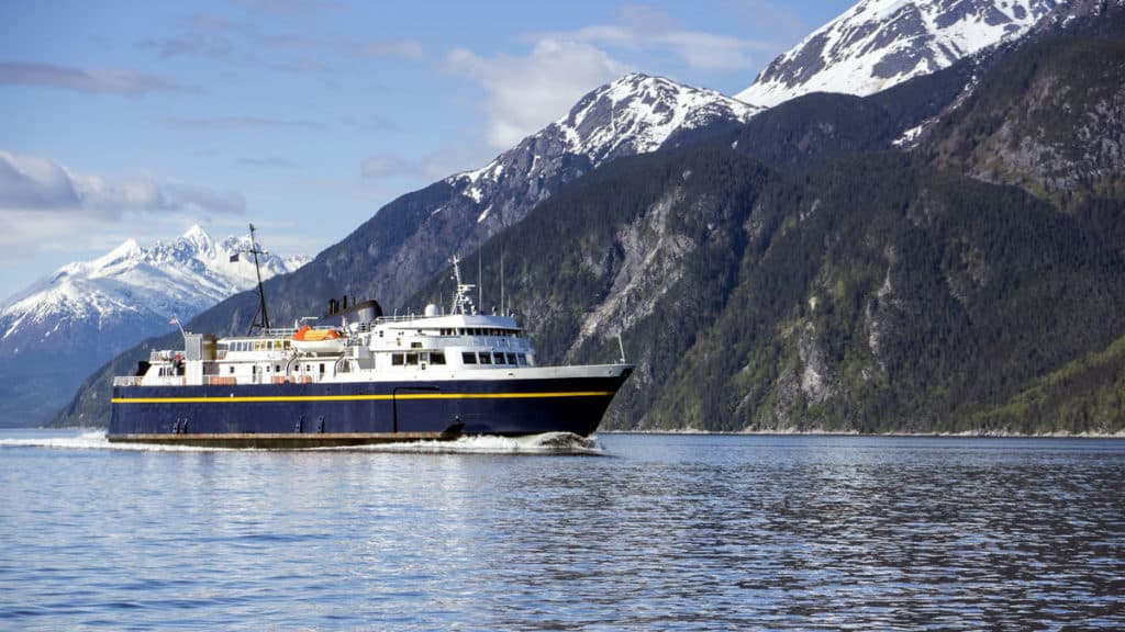 Ferry to Alaska