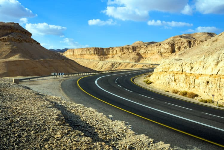 road in Israel
