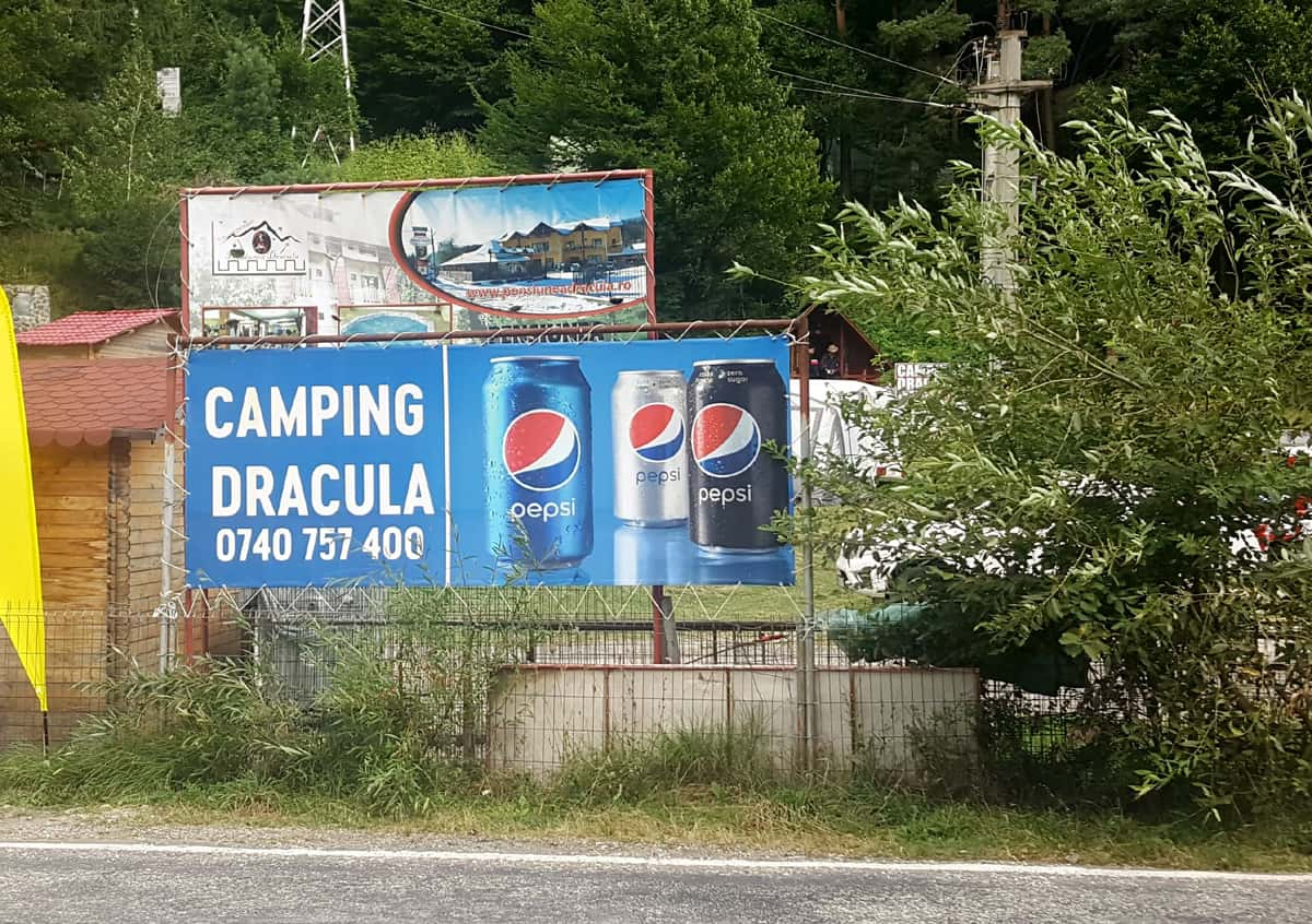 Camp Dracula along the Transfagarasan, Romania