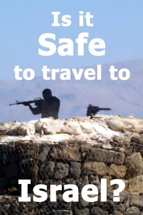 Is it safe to travel to Israel? Current information that will make you see what a safe travel destinaion Israel actually is.