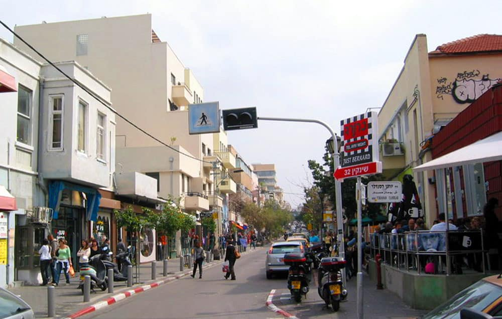 Tel Aviv is a fantastic walking city