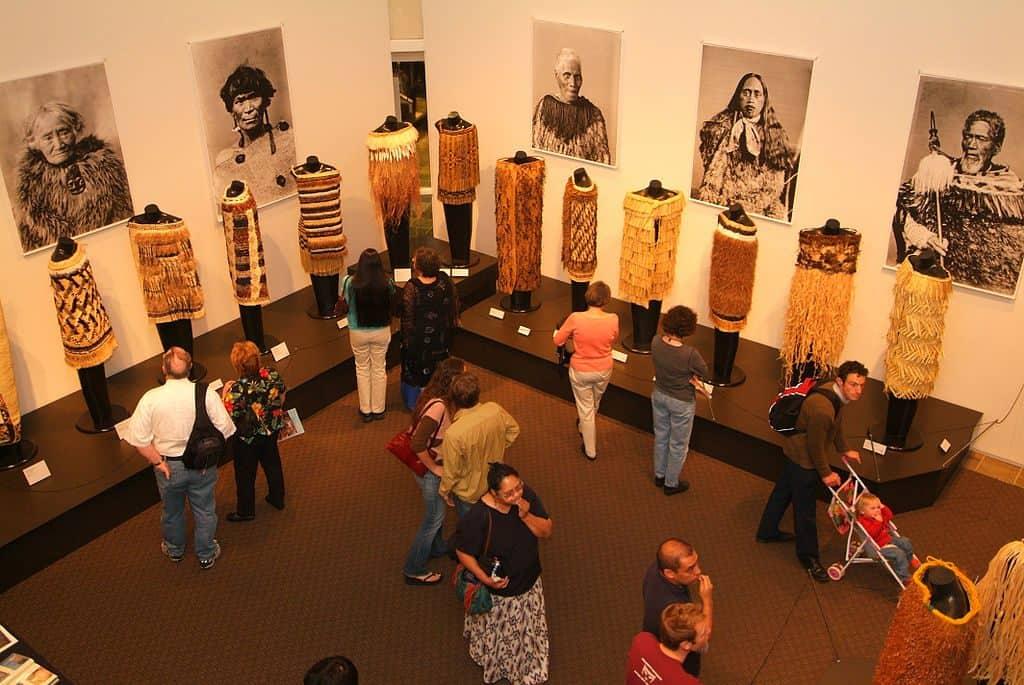 The Toi Maori exhibit at Hallie Ford Museum of Art