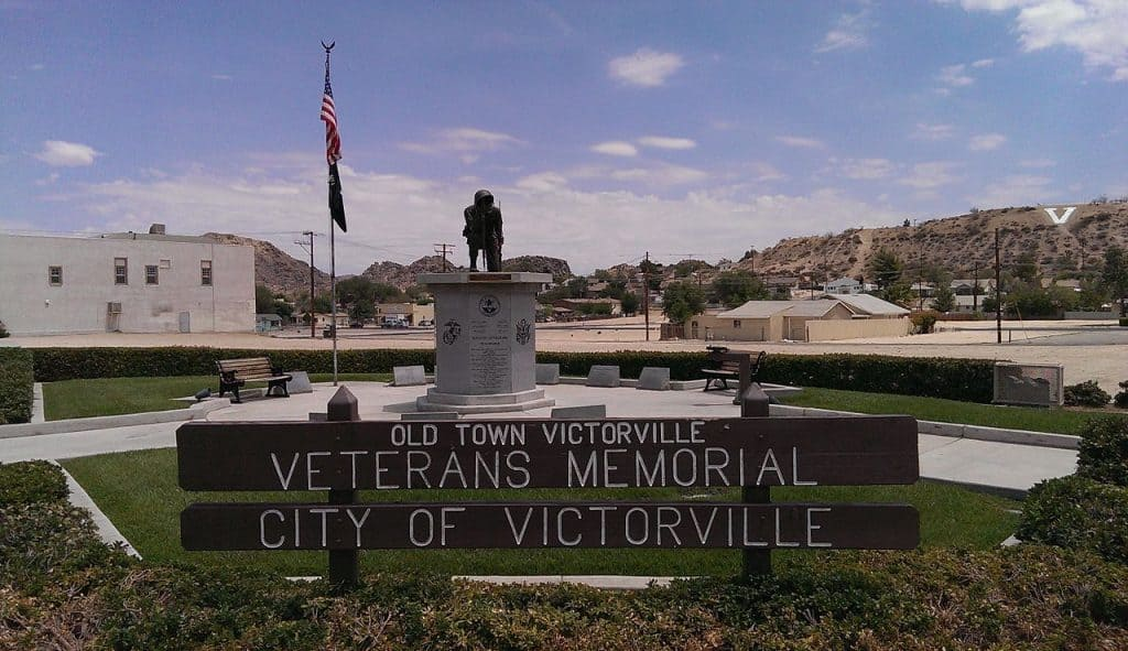 Old Town Victorville Veterans Memorial