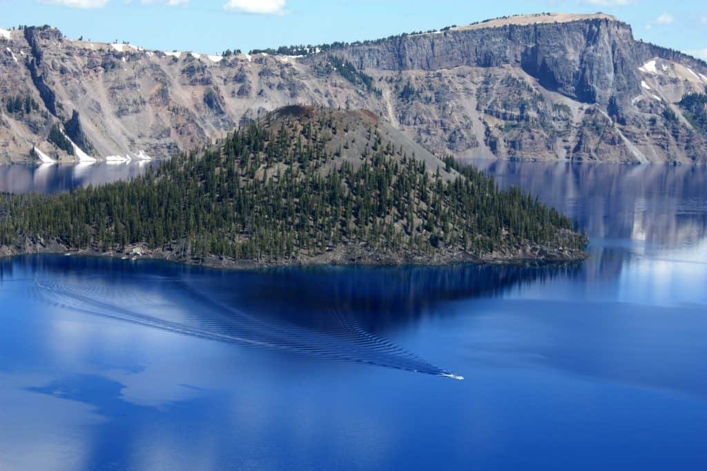 Tour Boat, Crater Lake National Park