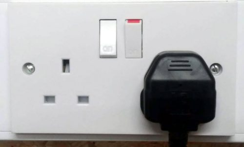 UK britain electric socket