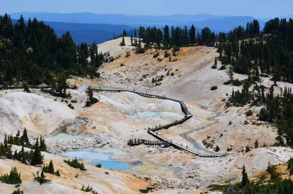 Bumpass Hell Trails