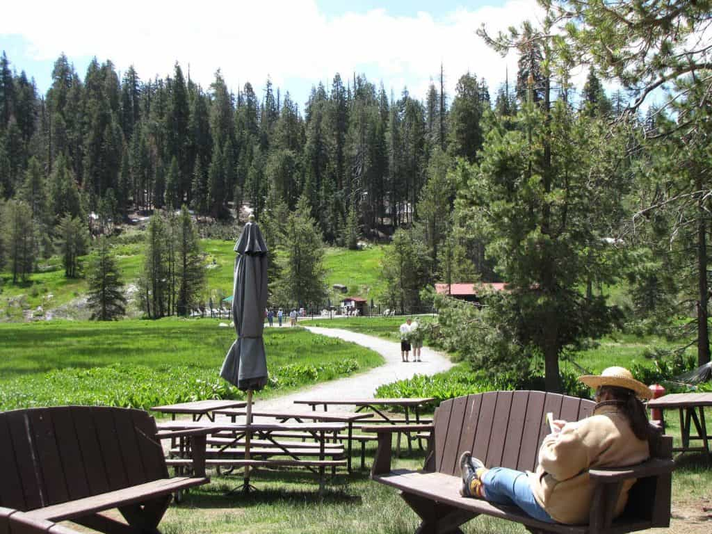 Drakesbad Guest Ranch provides numerous opportunities to relax and enjoy Lassen.