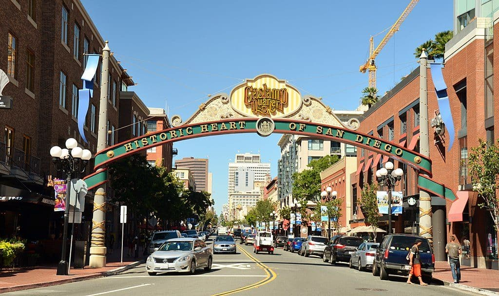 Gaslamp Quarter, San Diego, CA 92101, USA