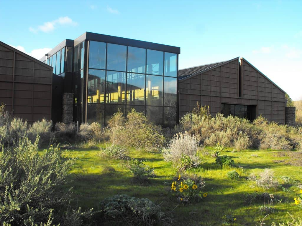 Gorge Discovery Center building