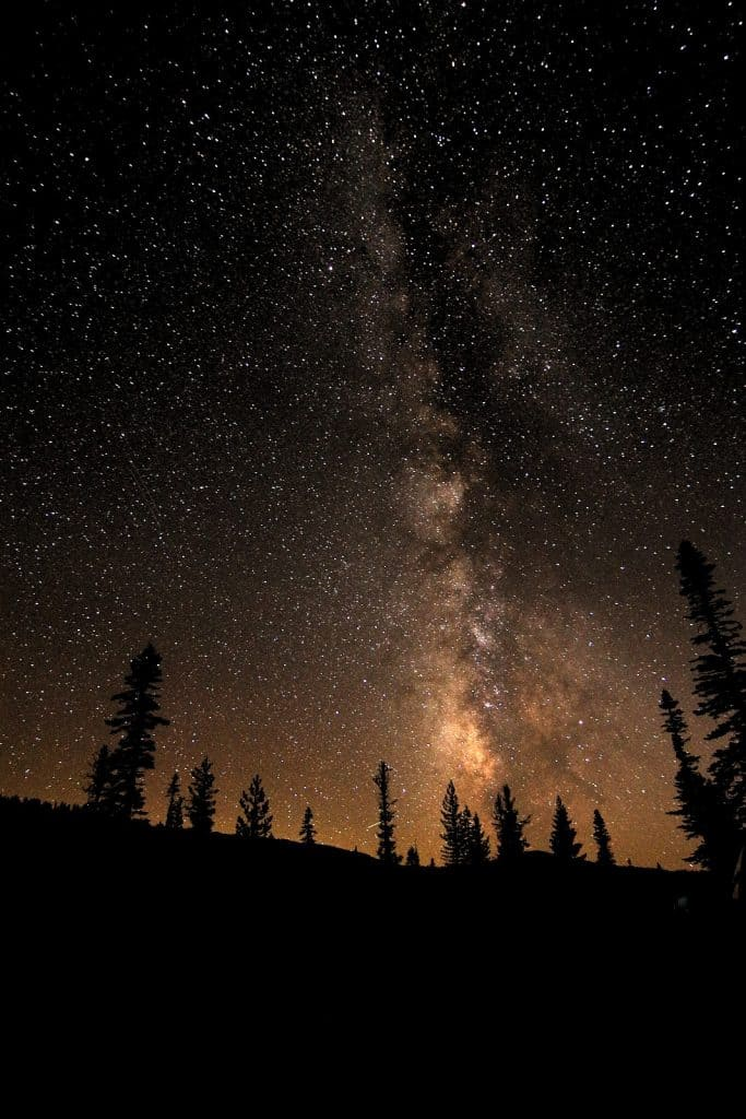 Night Sky at Lassen Volcanic National Park