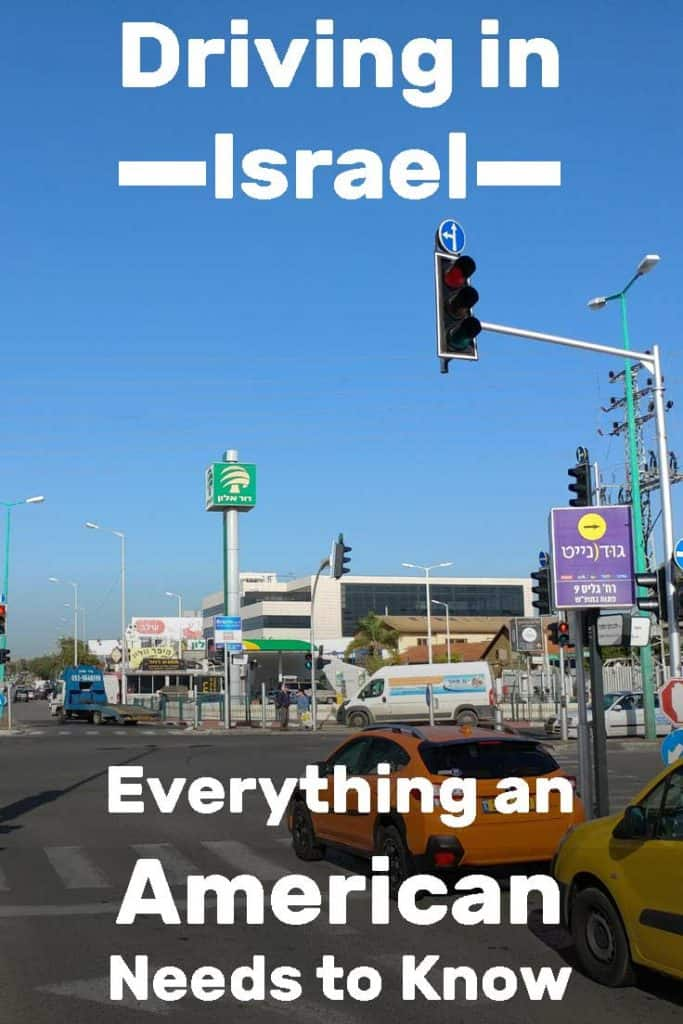 Driving in Israel - Everything You Need to Know as an American