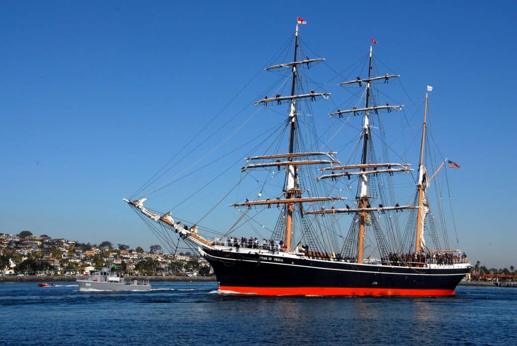 Star of India 150th Anniversary Sail