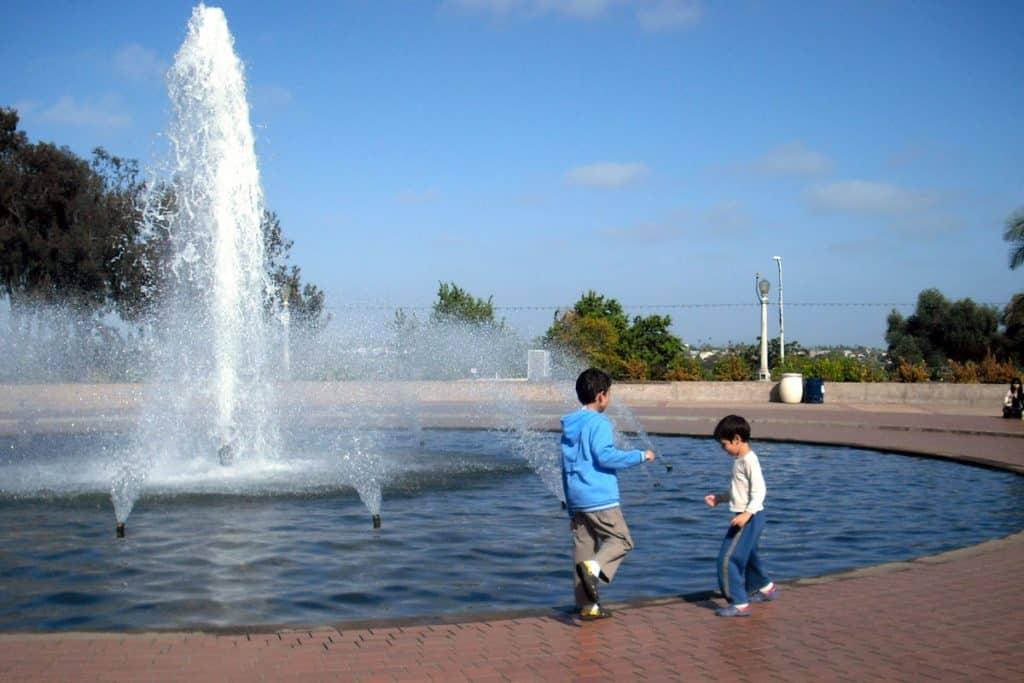 At Balboa Park