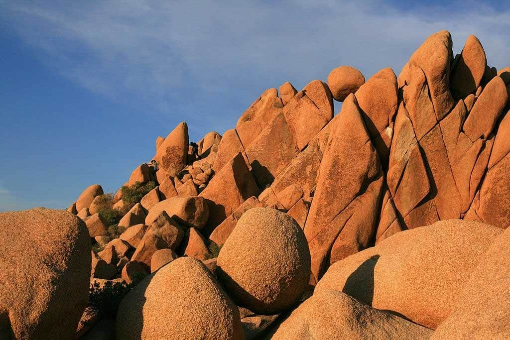 Rock formation in in Joshua Tree National Park, Southern California