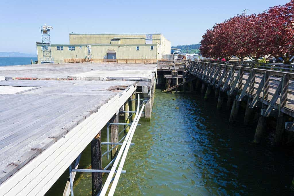 Canneries once populated the Riverwalk area in Astoria, Oregon | Photo by Visitor7