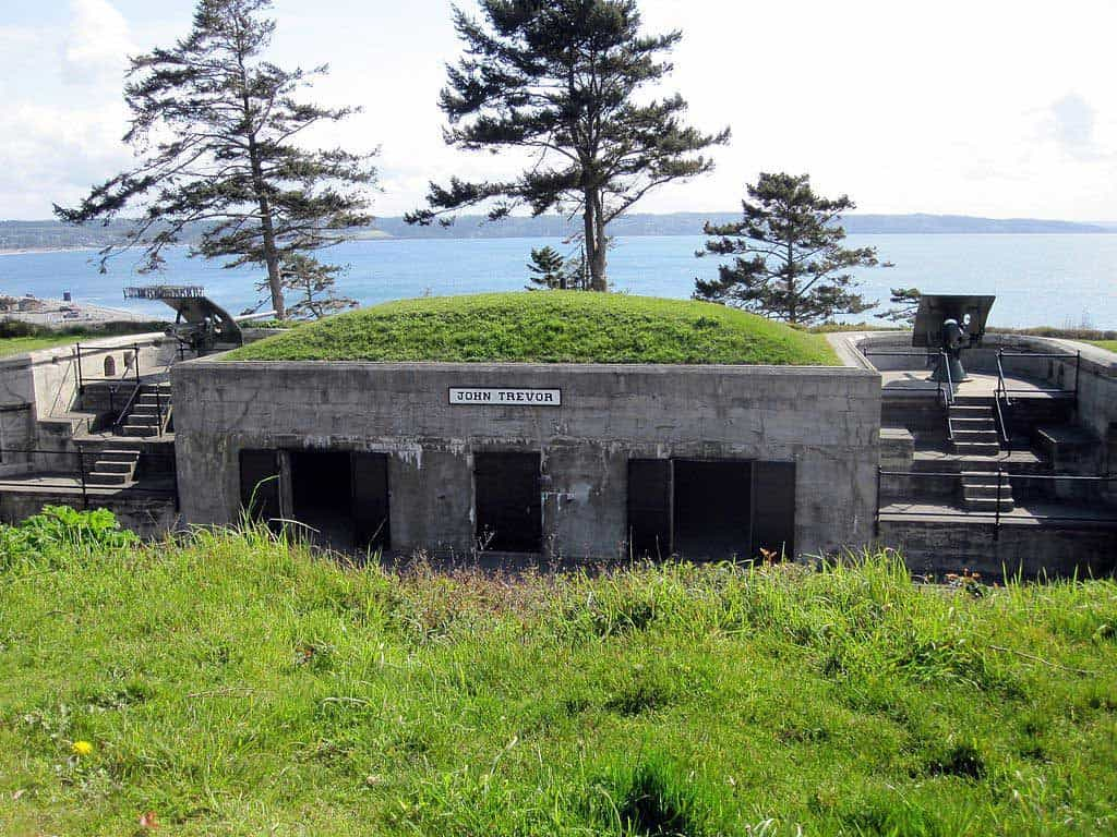 Battery Trevor at Fort Casey, Fort Casey State Park on Whidbey Island (WA)