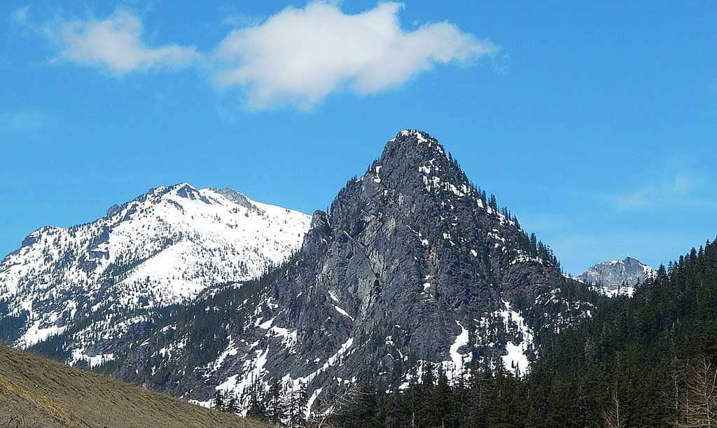 Guye Peak at Snoqualmie Pass