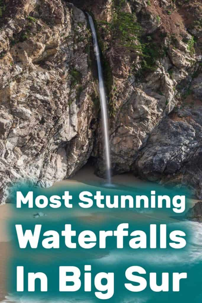 Most Stunning Waterfalls in Big Sur