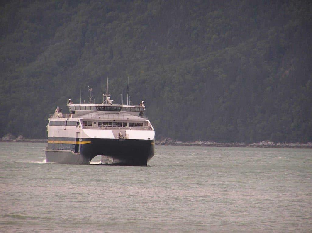 Fast ferry Skagway
