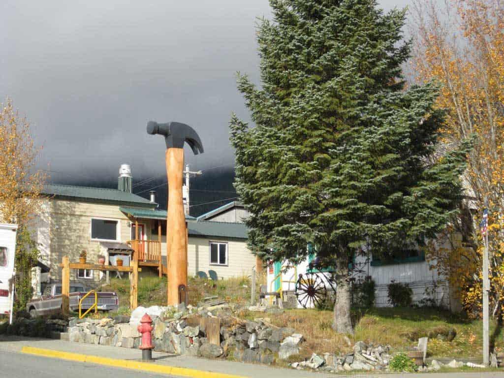 Hammer Museum Exterior, Haines, Alaska