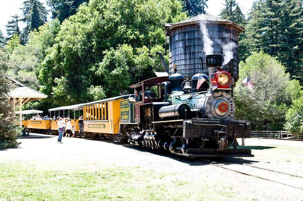Roaring Camp & Big Trees Railroad Train