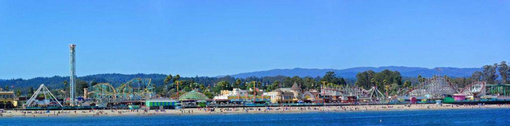 Santa Cruz Beach Boardwalk Amusement Park