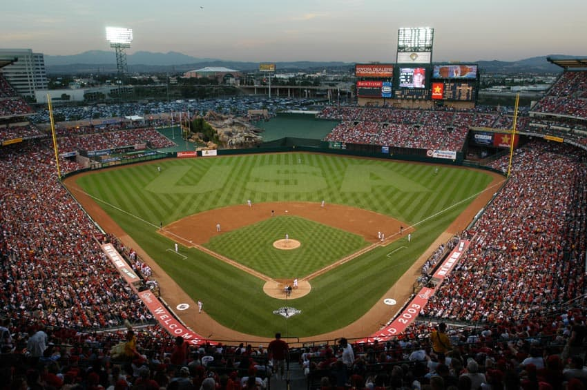 Angel Stadium of Anaheim, home of the Los Angeles Angels of Anaheim | PUBLIC DOMAIN