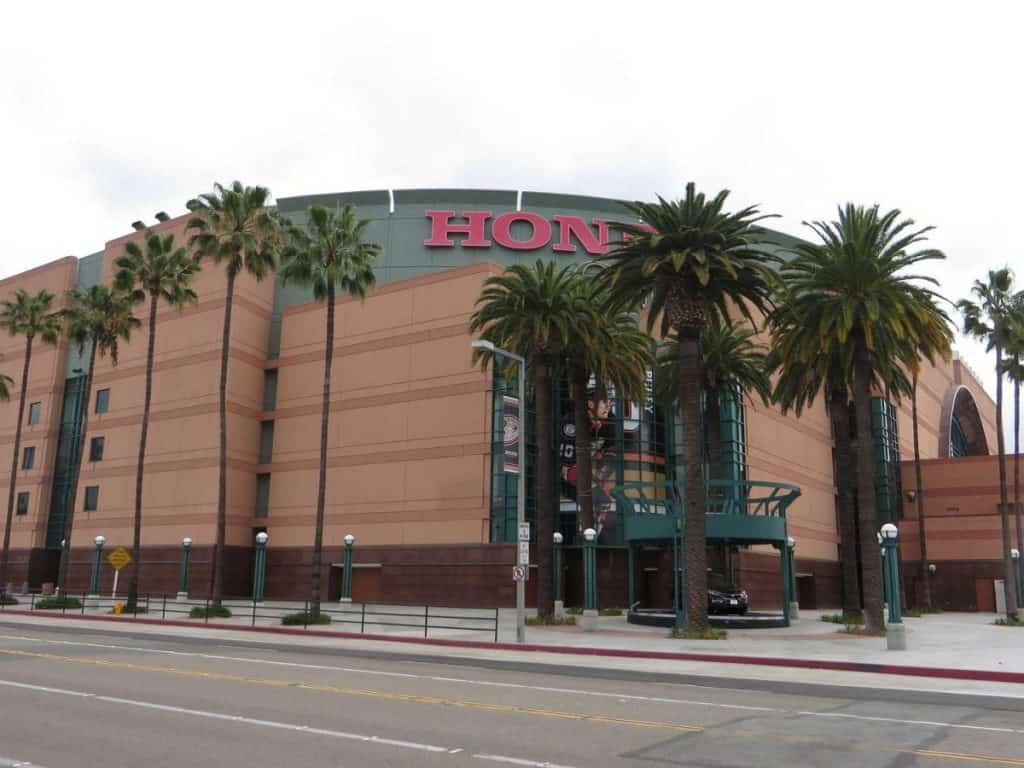 Honda Center, Anaheim, California