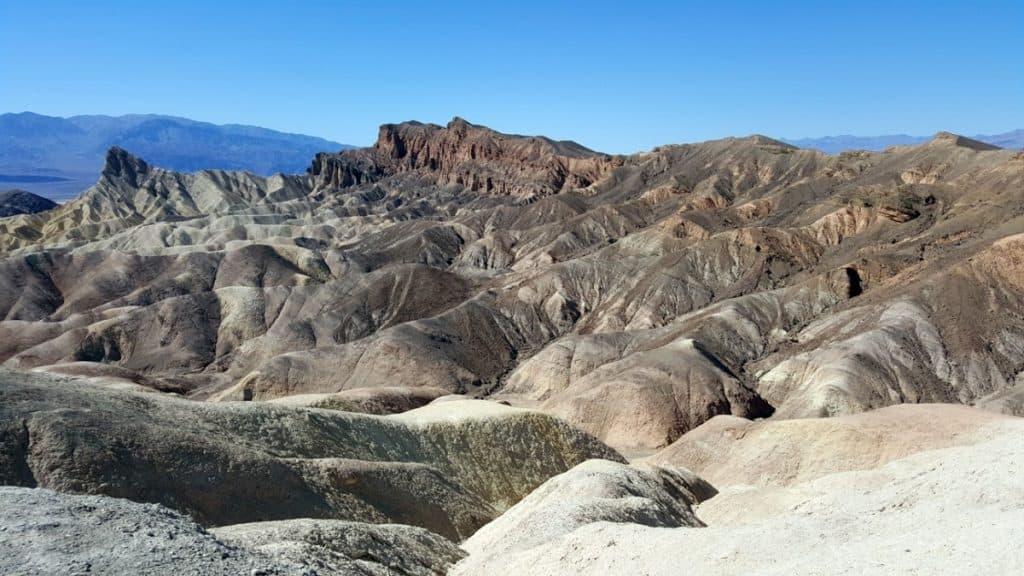View from Zabriskie Point - Death Valley National Park