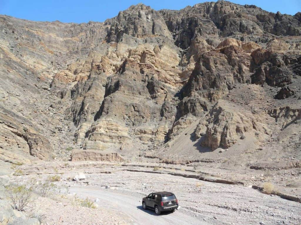 Titus Canyon Road, Death Valley National Park, California