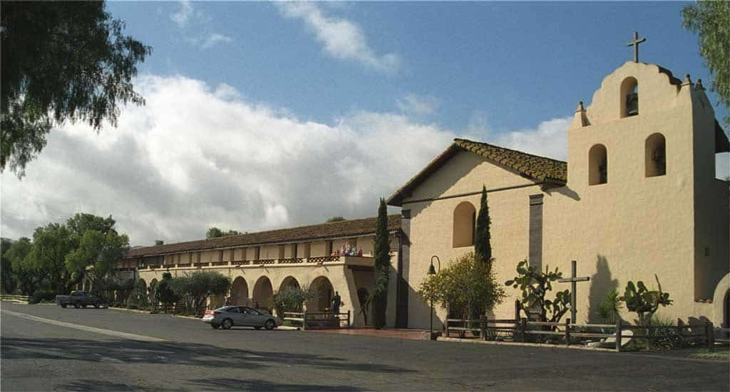 Mission Santa Inés — in Solvang, Santa Barbara County, California