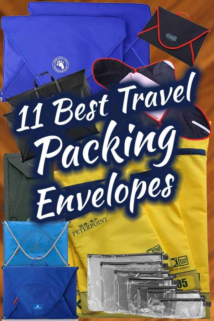 11 Best Travel Packing Envelopes